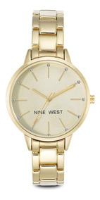 Nine West   Reloj Mujer   Nw/2098chgb   Original