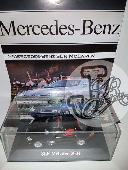 Slr Mclaren 2004 1/43 Ixo Colección Mercedes Benz