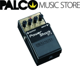 Pedal Boss Drive/distortion Power Stack St-2 - Loja Palco