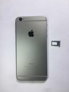 Carcaça iPhone 6 Plus Chassi Cinza