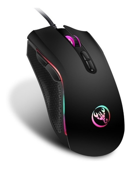 Mouse Gamer 7 Hxsj 3200 Dpi Botões 7