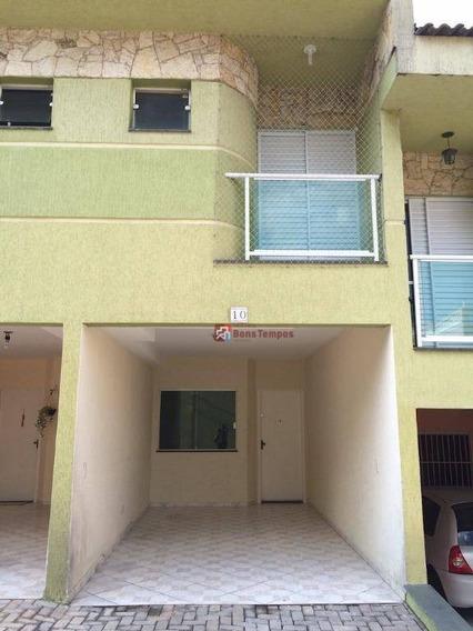 Sobrado Com 3 Dormitórios Para Alugar Por R$ 1.700/mês + Condominio E Iptu- Vila Marieta - São Paulo/sp - So2663