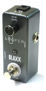 Blaxx Bxloop Mini Pedal Looper Cable Usb Outlet Housemusic