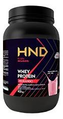 Whey Protein Hnd Hinode Morango 908g Suplemento Protéico Atl