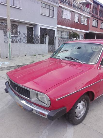 Renault 12 1980 - Linea Ok Candidato Para Clásico Y Antiguo