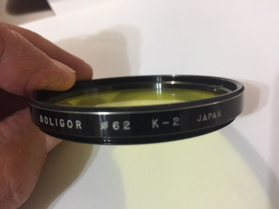 Filtro Soligor 62mm K-2 Japan