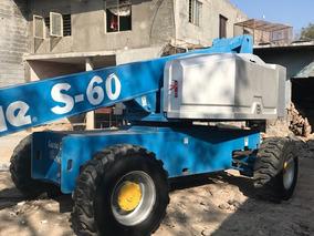 Genie S-60 4 X 4 Plataforma Articulada Motor Diesel