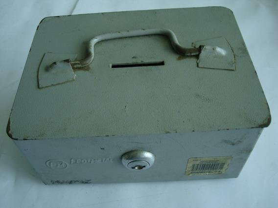 Caja Chica Cofre N 1 Metalico Con Cerradura, Sin Llave