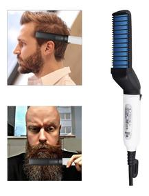 Chapinha Elétrica Prancha Masculino Barba Cabelo