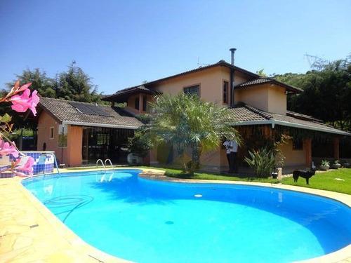 Chácara Com 3 Dormitórios À Venda, 3200 M² Por R$ 950 Mil - Laranjal - Atibaia Sp - Ch1132