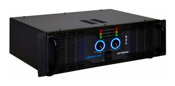 Amplificador De Potência Oneal Op 3600 2 Canais 700 Wrms