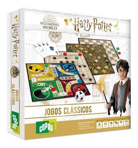 Imagem 1 de 4 de Jogos Clássicos Copag Tabuleiros Temáticos Harry Potter