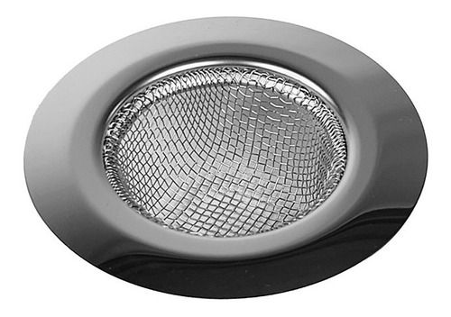 Imagen 1 de 5 de Rejilla Filtro Universal Acero Para Bacha Pileta Cocina
