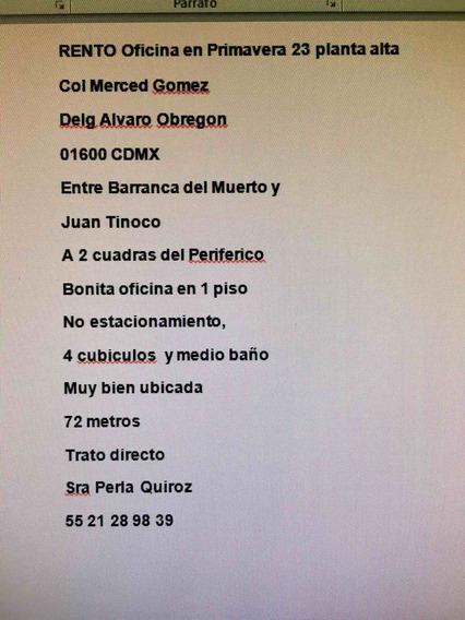 Renta Oficinas Delg Alvaro Obregon