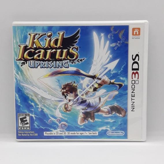 Kid Icarus Uprising Nintendo 3ds Midia Fisica Jogo Game