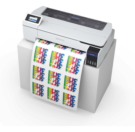 Impresora Plotter Sublimacion Epson F570 A1 Tinta Continua