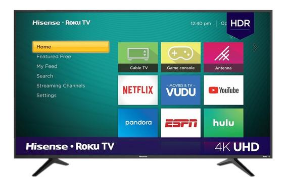 Pantalla Smart Tv Hisense 50 Pulgadas Roku Tv 4k Hdr 50r6e
