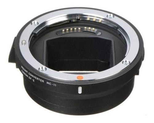 Imagem 1 de 3 de Adaptador Sigma Mc-11 Sony Conversor P/ Lentes Canon