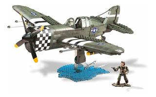 Mega Bloks Call Of Duty Ataque Aéreo Segunda Guerra Mundial