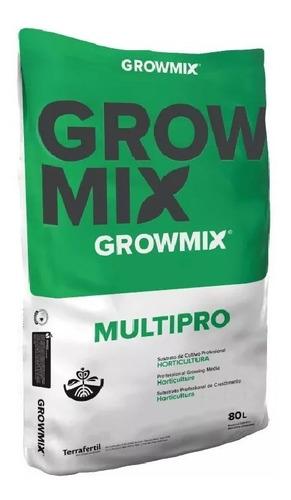 Grow Mix Multipro 80 Sustrato Growmix Pro Gabba Grow Olivos