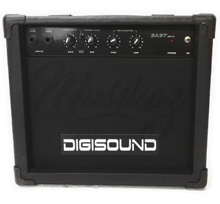 Amplificador Digisound Guitarra 15w Con Envio