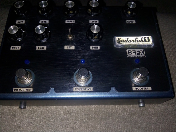Pedal Bff Guitarlab Overdrive, Distortion E Boosterr