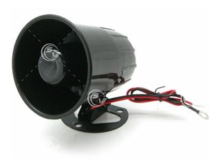 Alarma Sirena De 6 Tonos 12 Volts 20 Watts