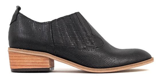 Zapato Mujer Antonia Cuero Reptil Group