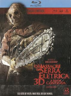 Blu-ray O Massacre Da Serra Elétrica 3d - A Lenda Continua