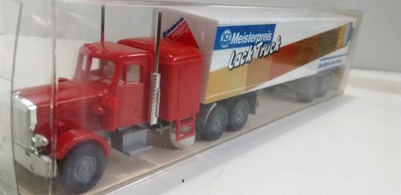 Peterbilt Tractor & Contenedor Usa Truck Escala 1/87 Wiking