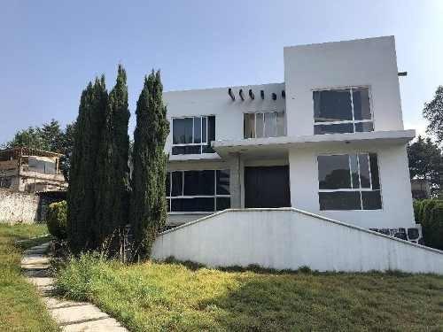 Excelente Casa Sola De 363 M2 De Construcción Y 1700 M2 De Terreno En Ocoyoacac, Edo. Mex.