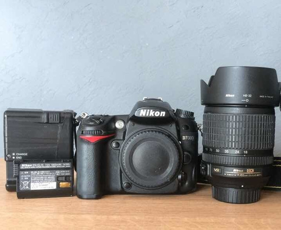 Kit Camera Nikon D7000 Mais Lente