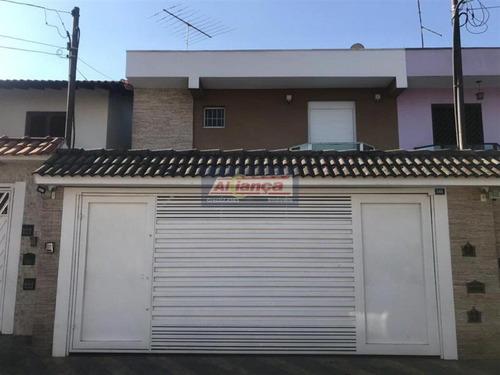 Sobrado Com 3 Dormitórios À Venda, 160 M² Por R$ 800.000,00 - Vila Rosália - Guarulhos/sp - Ai20341