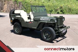 Jeep Willys Cj-3a - 1945