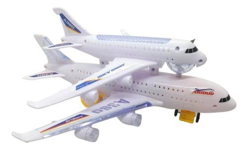 Avion Con Luces Y Sonido Juguete Niños  W248-20 Regalo