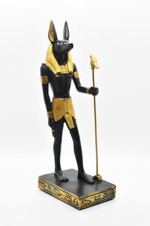 Anubis Dios Egipcio Fino Regalo Amuleto Figura Decorativa