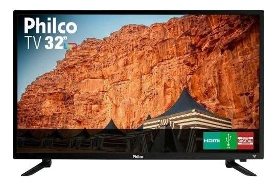 Tv Philco 32 Polegadas Led Hd Modelo Ptv32c30d Preta Bivolt