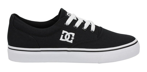 Tênis Dc Shoes New Flash 2 Tx Masculino - Preto E Branco