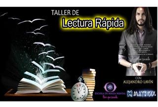Curso De Lectura Rapida Y Foto Lectura De Alejandro Lavin