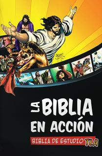 Paq. La Biblia En Acción Biblia De Estudio Y Comics