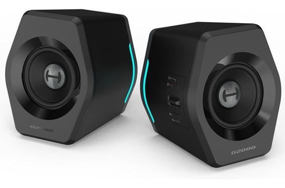 Caixa De Som Gamer Edifier G2000 Bluetooth Par Preto