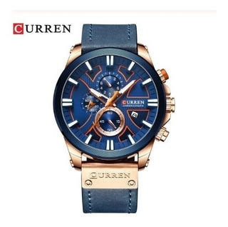 Reloj Hombre Deportivo Curren 8346 Oac Crono Caja