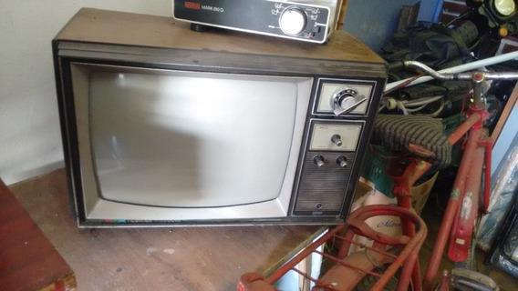 Antiguidade Televisão Semp Toshiba Com Seletor A Cores 20