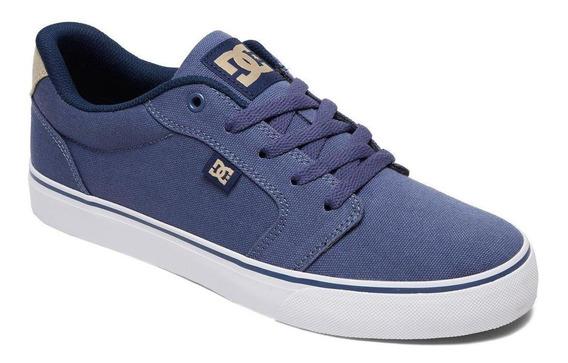 Zapatilla Anvil Tx M Shoe Azul Dc