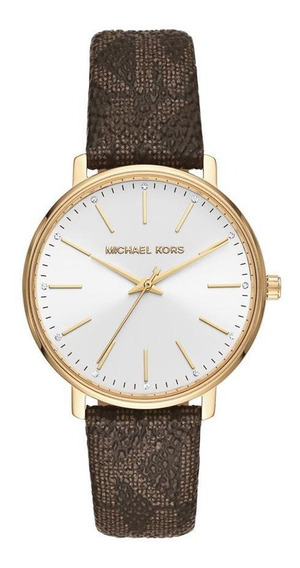 Relógio Feminino Michael Kors Pyper Roxo - Original