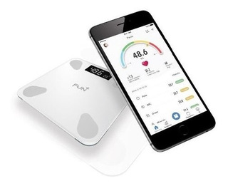 Balanza Pesa Digital Inteligente Fun Plus Blanca