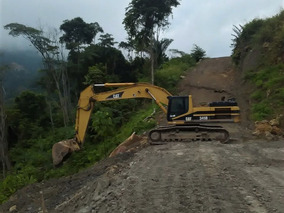 Excavadora, Marca Caterpillar, Modelo: 345b, Año: 2006