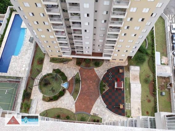 O Apartamento Está Localizado No Bairro Do Tatuapé, Fica Próximo Ao Metro Carrão E Fica Em Andar Alto ; Tem 49 M Com 2 Dormitórios - Ap5677