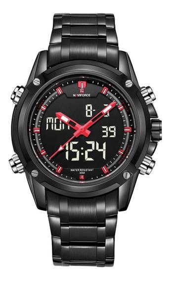 Relógio Masculino Naviforce 9050 Original Militar Elegante