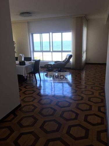 Imagem 1 de 10 de Copacabana - Alugo Apartamento De 4 Quartos Com Vista Mar. - Ap0619
